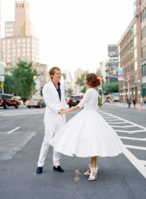 Catherine + Gilles in The Big Apple