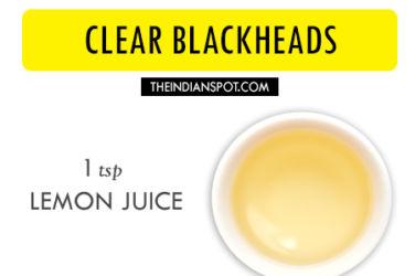 lemon juice and egg white