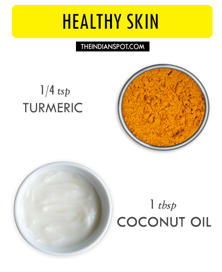 tumeric n coconut mask