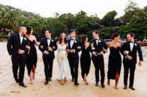 Nellie & Steven Brun's Exotic Garden Wedding in Phuket