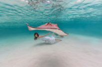 Ethereal Underwater Photos featuring Sacha Kalis