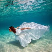 Ethereal Underwater Photos featuring Sacha Kalis