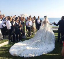 Giovanna Battaglia and Oscar Englebert's Lavish Wedding in Capri