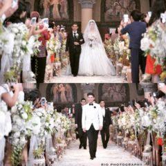 Chelsea Olivia Wijaya and Glenn Alinskie's Luxurious Fairy-Tale Wedding