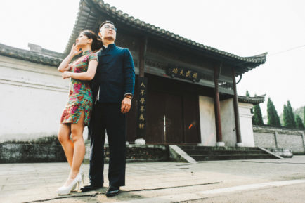 Liz and Wai Fong's Shanghainese Pre-Wedding By Chester Kher Creations