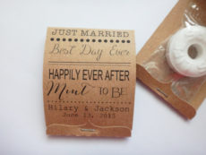 Quirky Wedding Favour Ideas