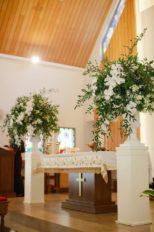 Diane and Giacomo's Beautiful Church Wedding