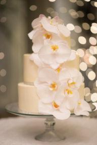 Shirley & Johnny's All-White Chapel Wedding