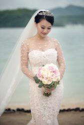 Xiaoya & Zhe's Flowery Wedding In Phuket