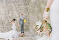Titov & Patricia's Magical Forest Wedding in Bali