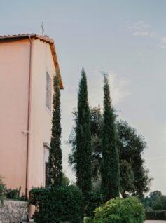 Lindsay & Michael's Quaint Little Hillside Villa Wedding in Italy