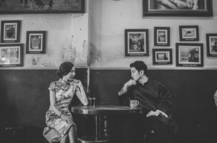 Engagement Portraits Inspired by Ip Man - Sanit Portfolio