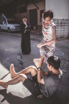 Engagement Portraits Inspired by Ip Man - Sanit Portfolio
