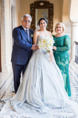Lizbeth & Massimiliano's Old World Charm Wedding