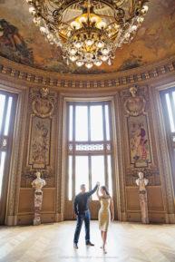 Matthew & Olivia's Coastal Adventure Pre-Wedding Shoot in Paris