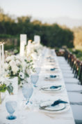 Rustic French Wedding with Shades of Blue