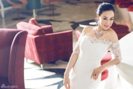 Actress Christy Chung tied the knot with Zhang Lunshuo