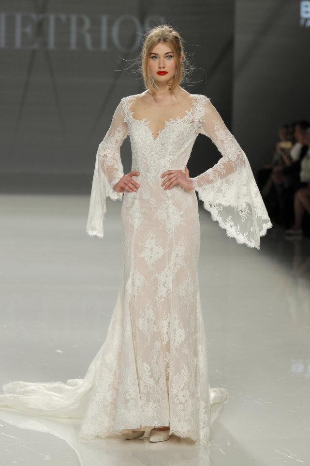 Demetrios Barcelona Bridal Week 2017 -48
