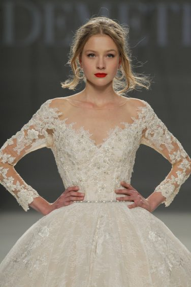 Demetrios Barcelona Bridal Week 2017 -56
