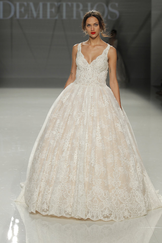 Demetrios Barcelona Bridal Week 2017 -57