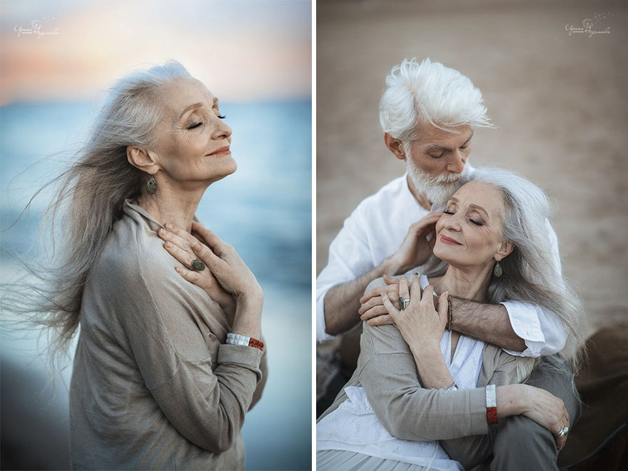 Beautiful portraits of elderly couple by photographer Irina Nedyalkova
