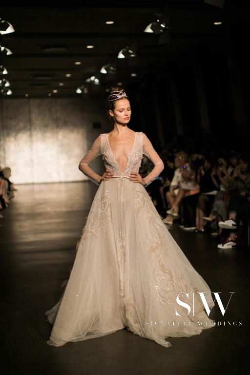 INBAL DROR Fall/Winter 2018 Bridal Collection—New York Fashion Week