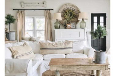 living, lifestyle, tips, be-inspired - Rustic White Deco Ideas For Your Dream Home