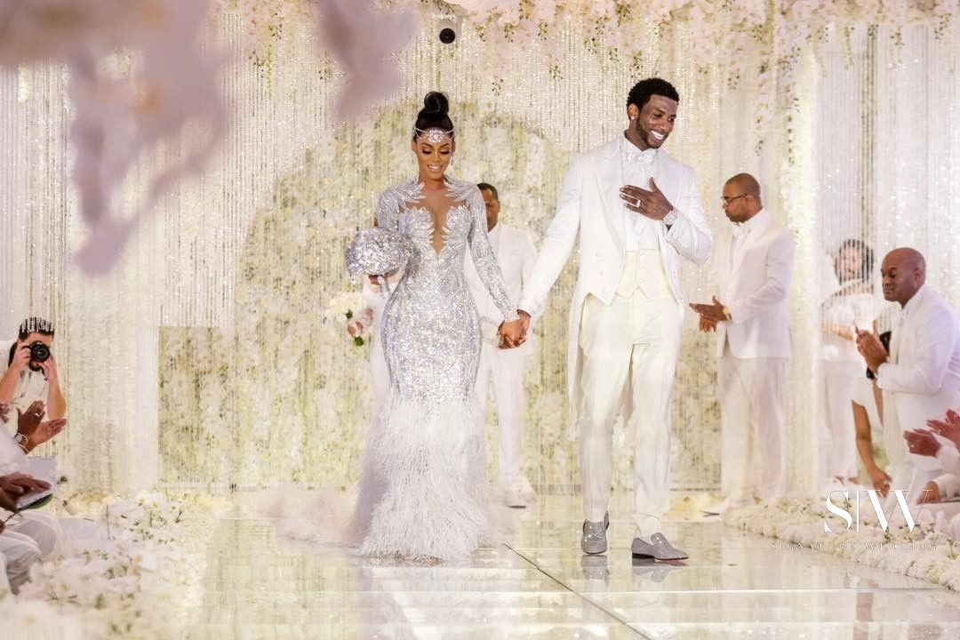 @laflare1017 Gucci Mane Keyshia Kaoir Luxury Wedding (3)