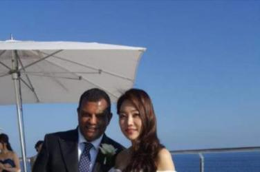wedding, malaysia, celebrity - AirAsia Tycoon Tony Fernandes Marries Quietly in Côte d'Azur