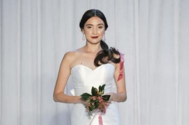 Dan and Corina Lecca Anne Barge Fall 2018 Bridal Collection New York Fashion Week 11