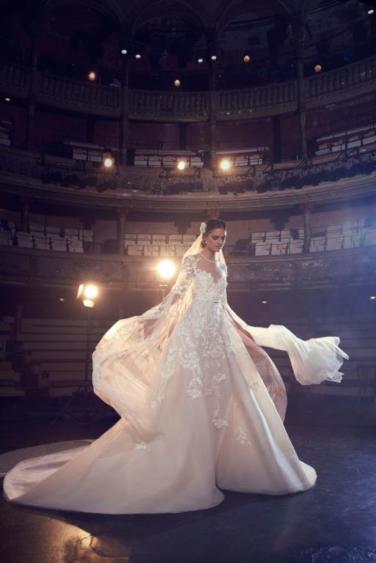 ELIE SAAB Fall 2018 Bridal Collection—New York Fashion Week