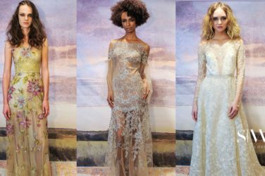 wedding-dresses, style-fashion, lookbook - CLAIRE PETTIBONE Fall 2018 Bridal Collection—New York Fashion Week