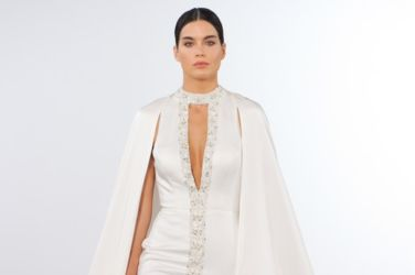 FirstView Dennis Basso Fall 2018 Bridal Collection New York Fashion Week 01