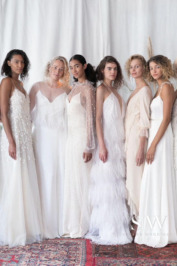 ALEXANDRA GRECCO Fall 2018 Bridal Collection—New York Fashion Week