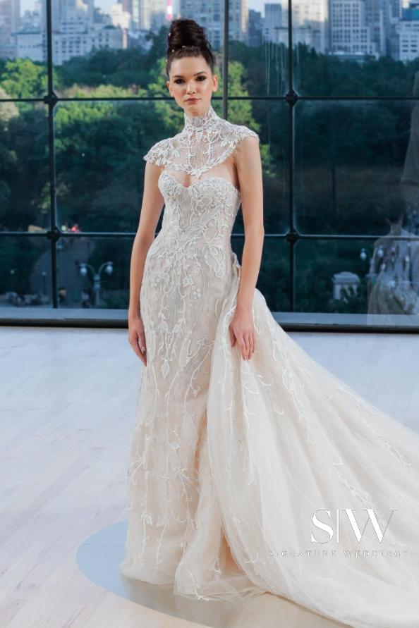 INES DI SANTO Fall 2018 Bridal Collection—New York Fashion Week