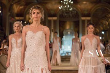 wedding-dresses, style-fashion, lookbook - IDAN COHEN Fall 2018 Bridal Collection—New York Fashion Week