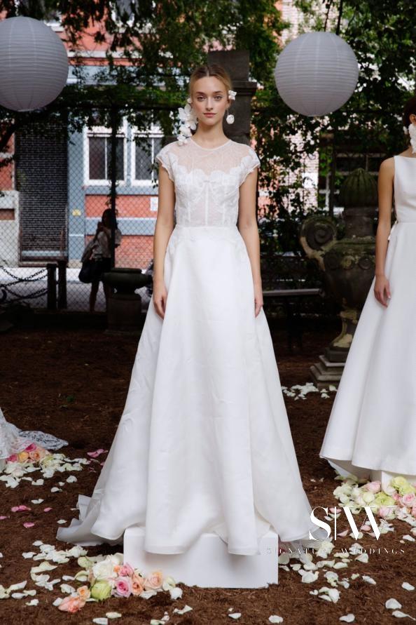 LELA ROSE Fall 2018 Bridal Collection—New York Fashion Week