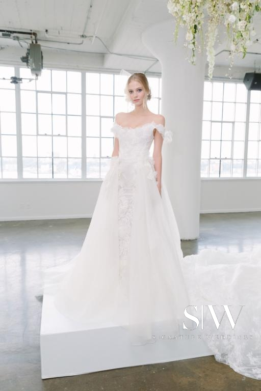 MARCHESA Fall/Winter 2018 Bridal Collection—New York Fashion Week