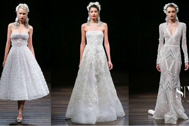 wedding-dresses, style-fashion, lookbook - NAEEM KHAN Fall 2018 Bridal Collection—New York Fashion Week