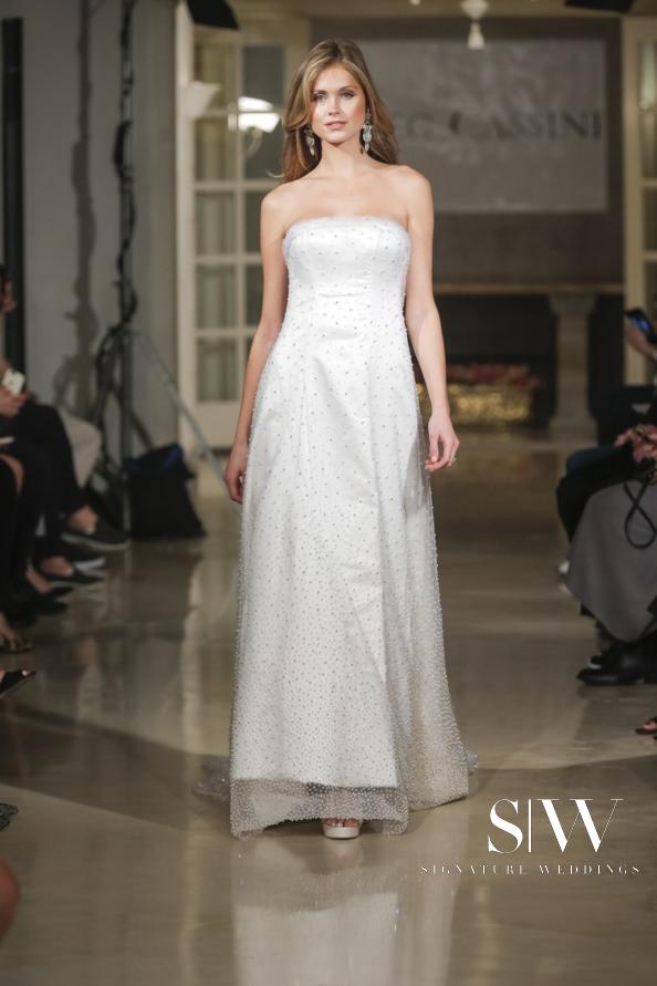 OLEG CASSINI Fall 2018 Bridal Collection—New York Fashion Week