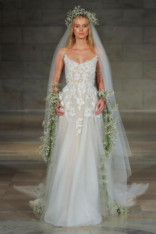 REEM ACRA Fall/Winter 2018 Bridal Collection—New York Bridal Fashion Week