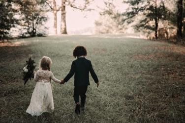 etc - This Mock Children's Wedding Photoshoot is Everything Cute