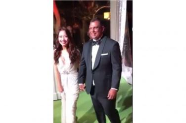 wedding, malaysia, global-wedding, celebrity - Video leak of AirAsia's Tony Fernandes & wife Chloe secret wedding