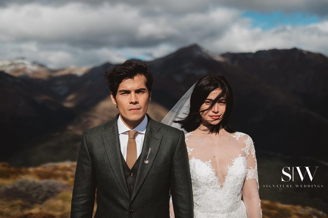 @jimpollardgoesclick Erwan Heussaff and Anne Curtis Smith Wedding