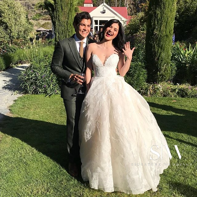 Anne Curtis Smith and Erwan Heussaff's Très Romantique Wedding in New Zealand
