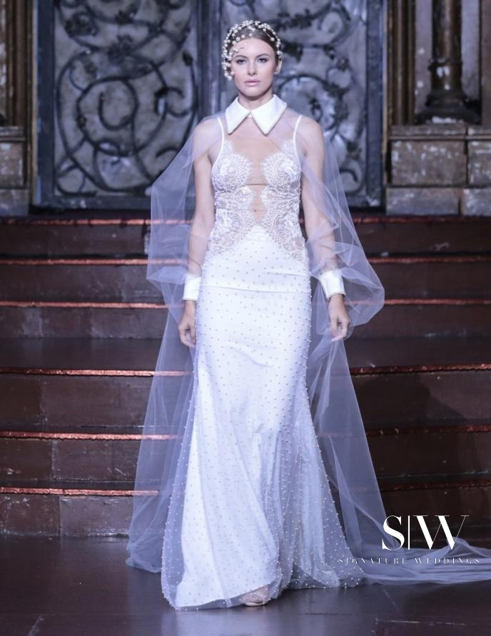 DANY MIZRACHI Fall 2018 Bridal Collection—New York Fashion Week