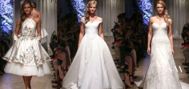 MATTHEW CHRISTOPHER Fall 2018 Bridal Collection—New York Fashion Week