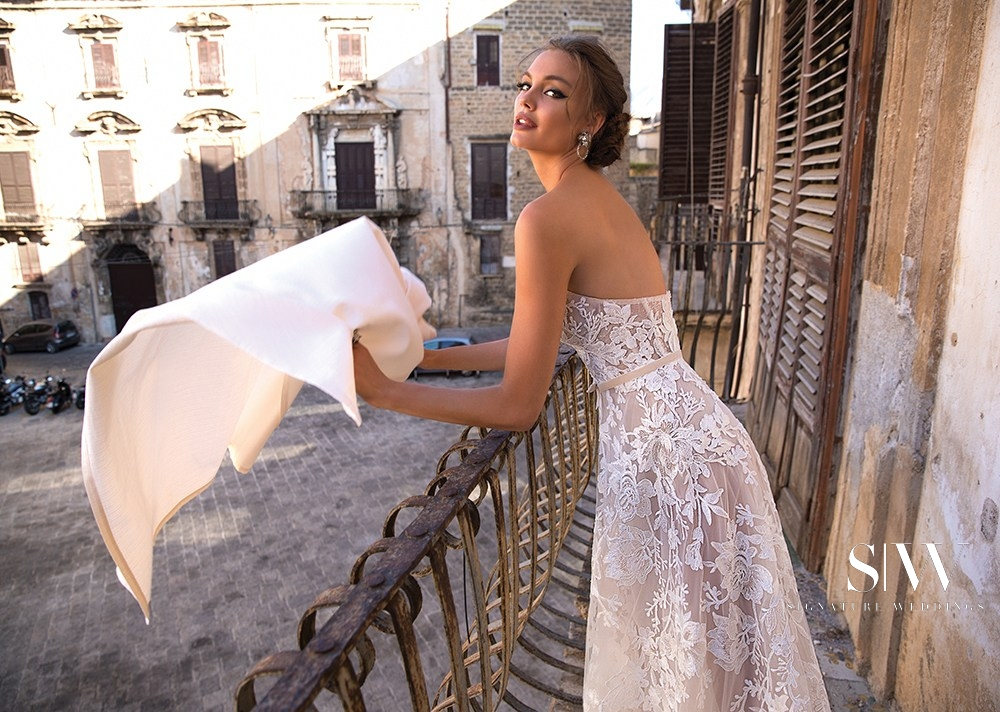 MUSE by BERTA 2018 Bridal Collection is Sexy and Stunning
