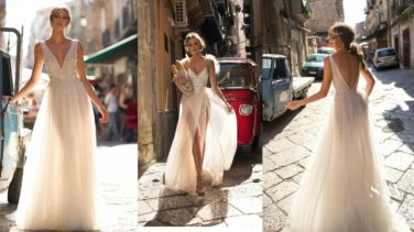 wedding-dresses, style-fashion, lookbook - MUSE by BERTA 2018 Bridal Collection is Sexy and Stunning
