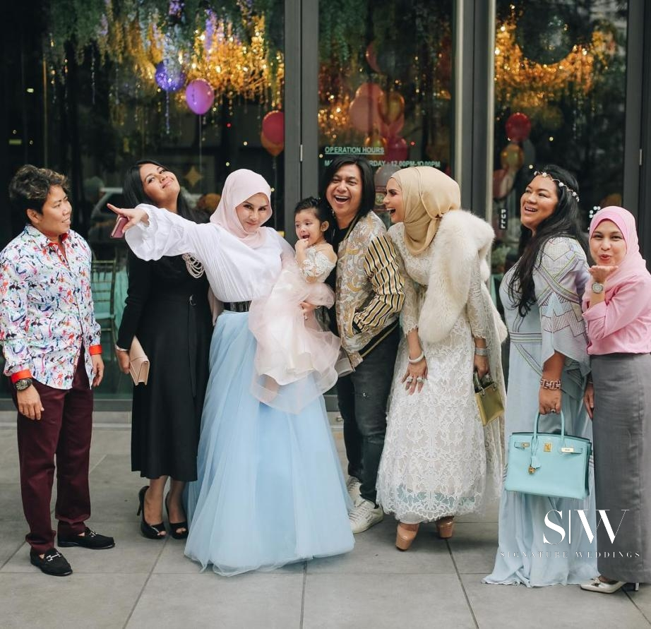 Rozita Che Wan Threw a Lavish Celebration for Her 3-Year-Old Aaisyah